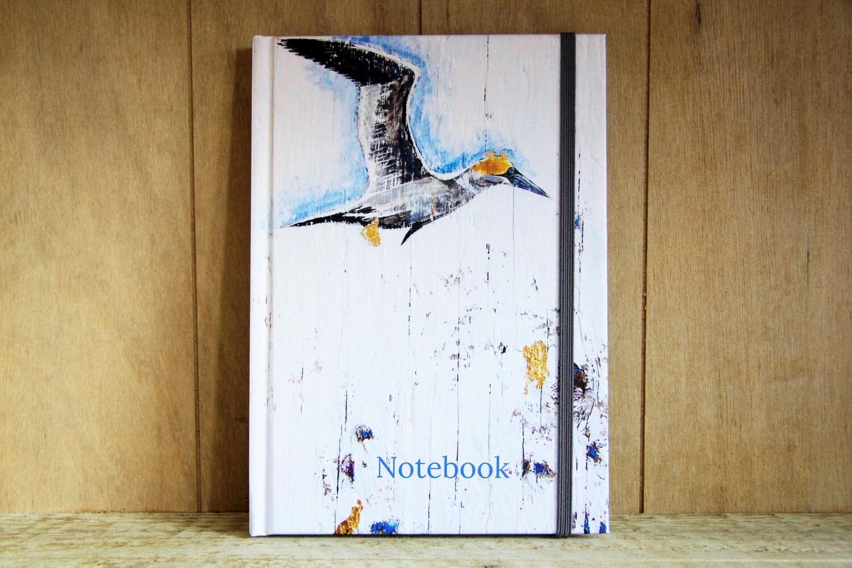 Gannet notebook - hardback A5