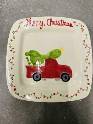 Three's Holiday Platter Mini Memories (formerly Children's Art)