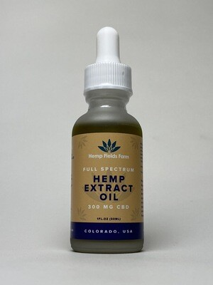 300mg Full-Spectrum CBD-Rich Tincture