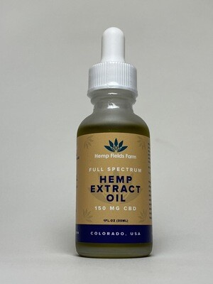 150mg Full-Spectrum CBD-Rich Tincture