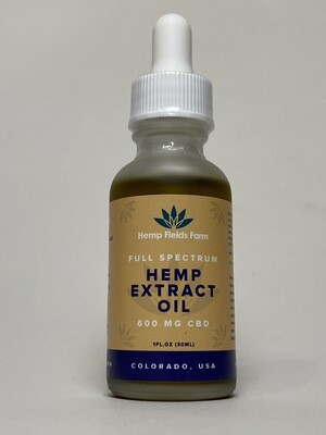 600mg Full-Spectrum CBD-Rich Tincture