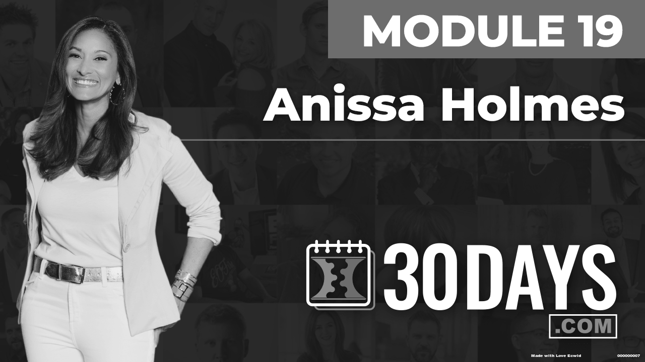 Courses Quick Starts lessons Anissa Holmes topic Summit Interview
