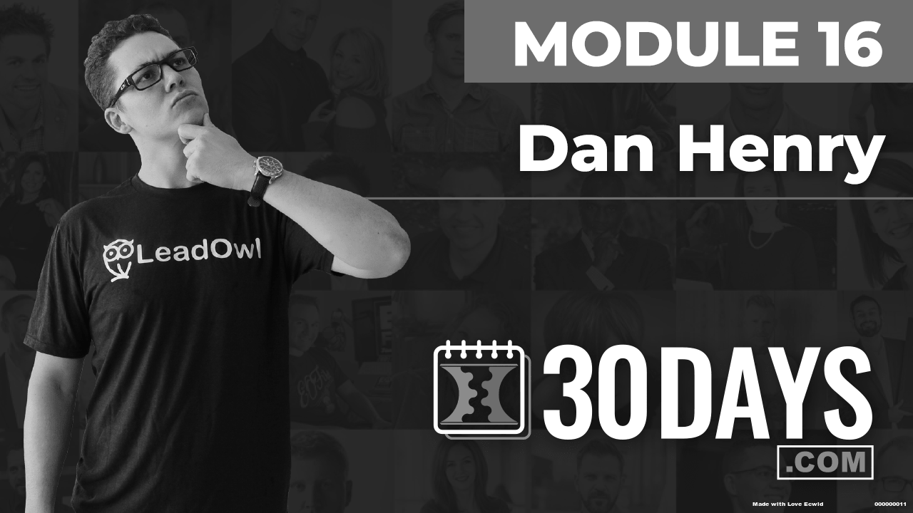 Courses Quick Starts lessons Dan Henry topic Summit Interview