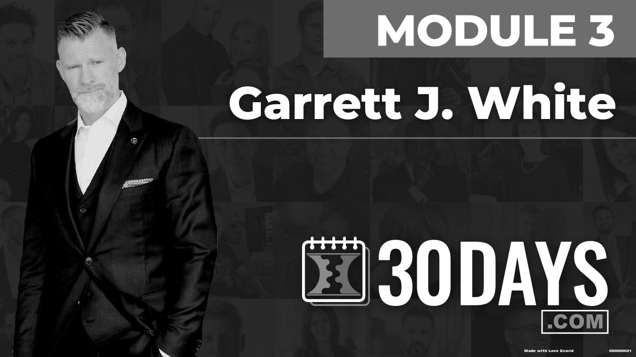 Courses Quick Starts lessons Garrett J White topic Summit Interview