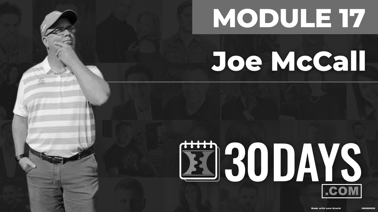 Courses Quick Starts lessons Joe Mccall topic Summit Interview