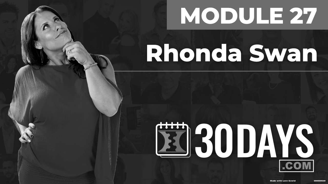 Courses Quick Starts lessons Rhonda Swan topic Summit Interview