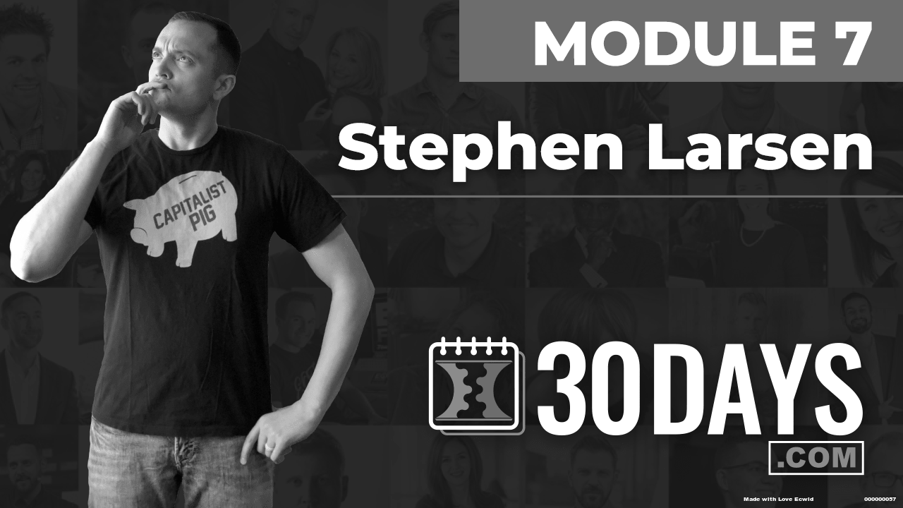 Courses Quick Starts lessons Stephen Larsen topic Summit Interview