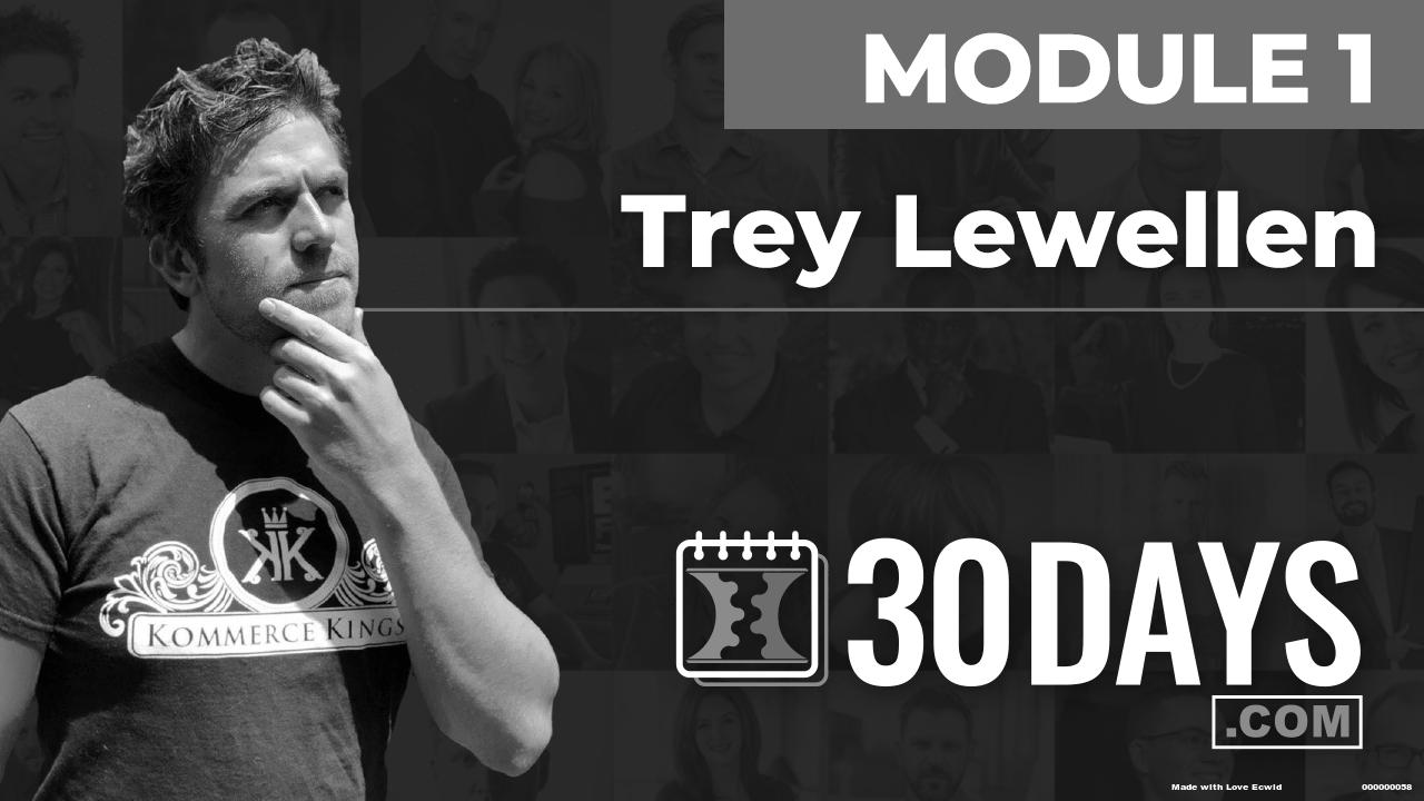 Courses Quick Starts lessons Trey Lewellen topic Behind The Scenes