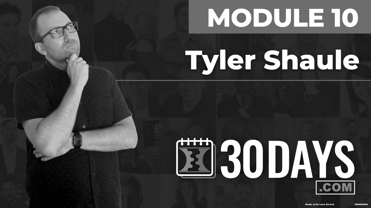Courses Quick Starts lessons Tyler Shaule topic Behind The Scenes