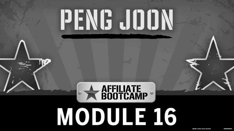Courses Quick Starts lessons Peng Joon topic Behind the Scenes