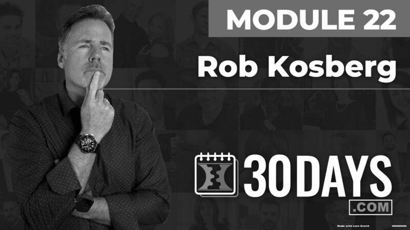 Courses Quick Starts lessons Rob Kosberg topic Behind The Scenes