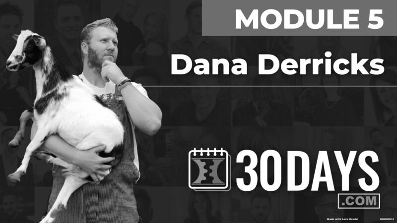 Courses Quick Starts lessons Dana Derricks topic Behind The Scenes