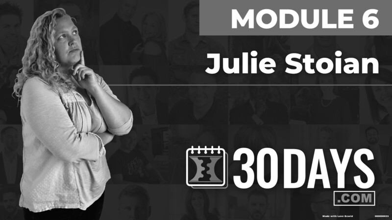 Courses Quick Starts lessons Julie Stoian topic Summit Interview