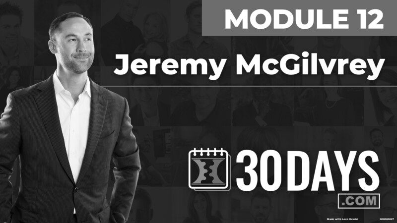 Courses Quick Starts lessons Jeremy Mcgilvrey topic Summit Interview