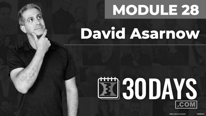 Courses Quick Starts lessons David Asarnow topic Summit Interview