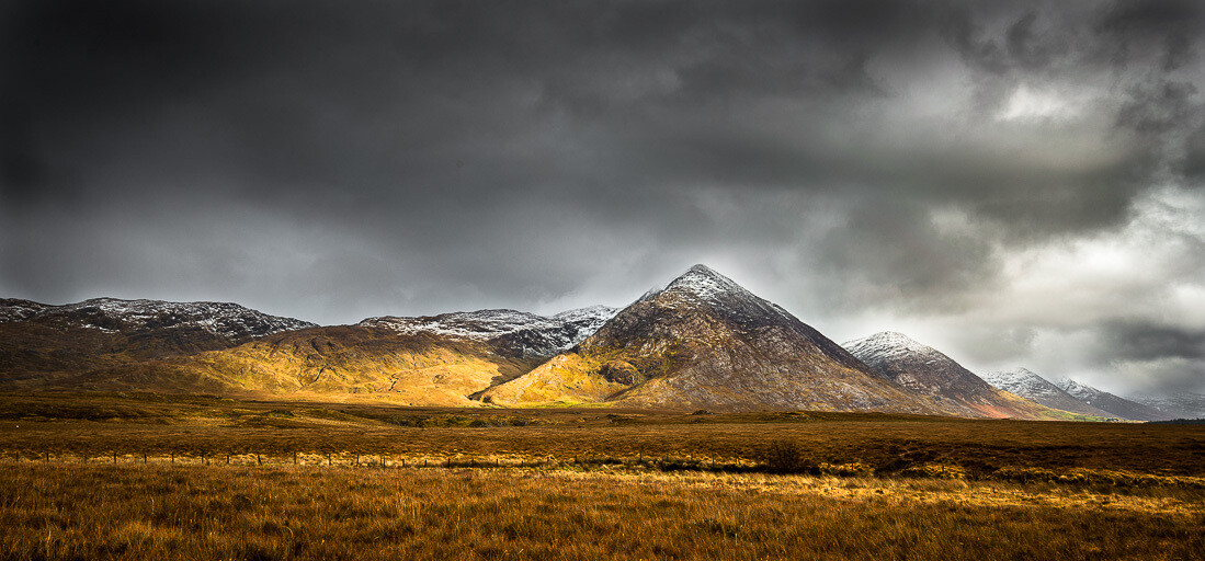 Maamturk Mountains, Connemara, Galway.