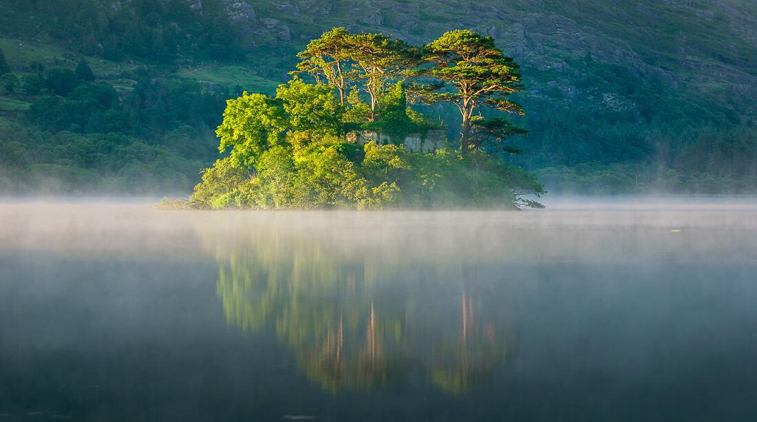 Glanmore Lake Island, Beara Peninsula, Kerry - 2.