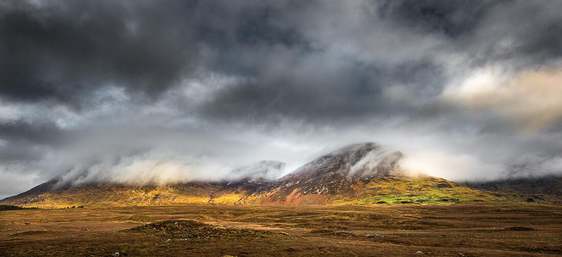 Maamturk Mist, Connemara, Galway.