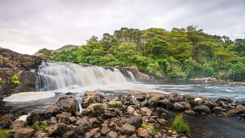 Aasleagh Falls, Mayo.