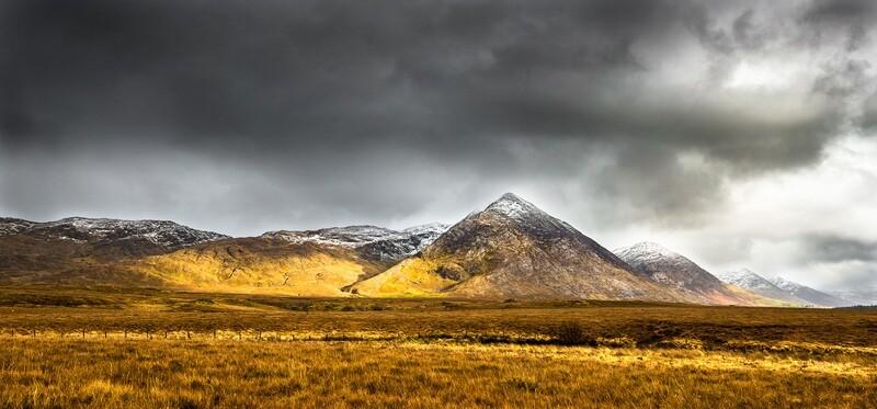 Maamturk Mountains, Connemara, Galway.