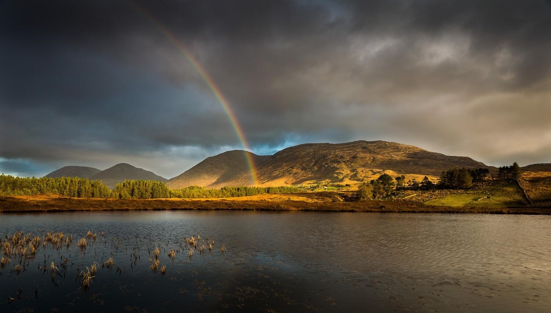 Maamturk Rainbow, Connemara, Galway.