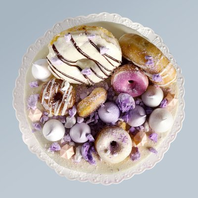 Donuts on Cake