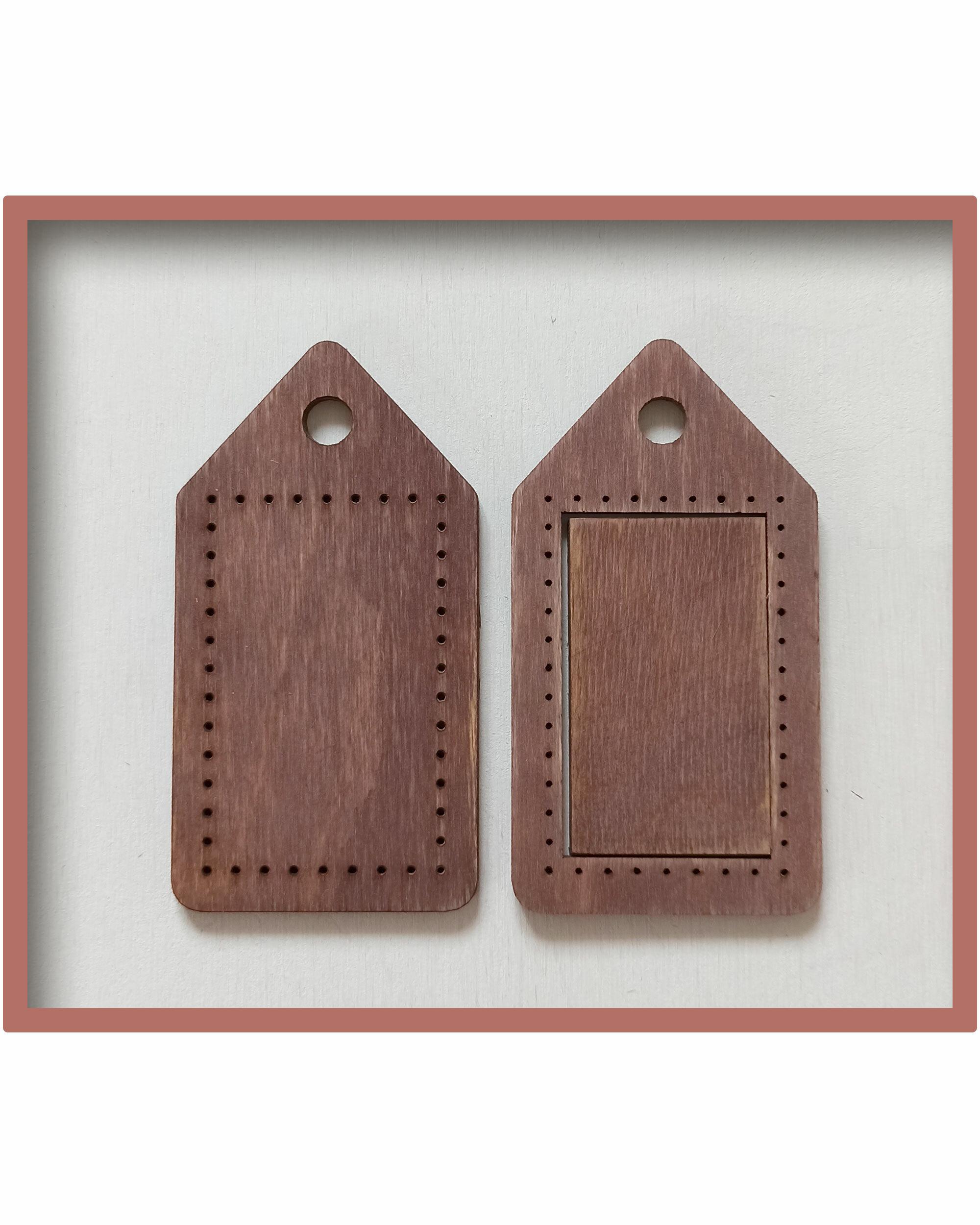 Брелок для оформления вышивки (цвет Мокко)