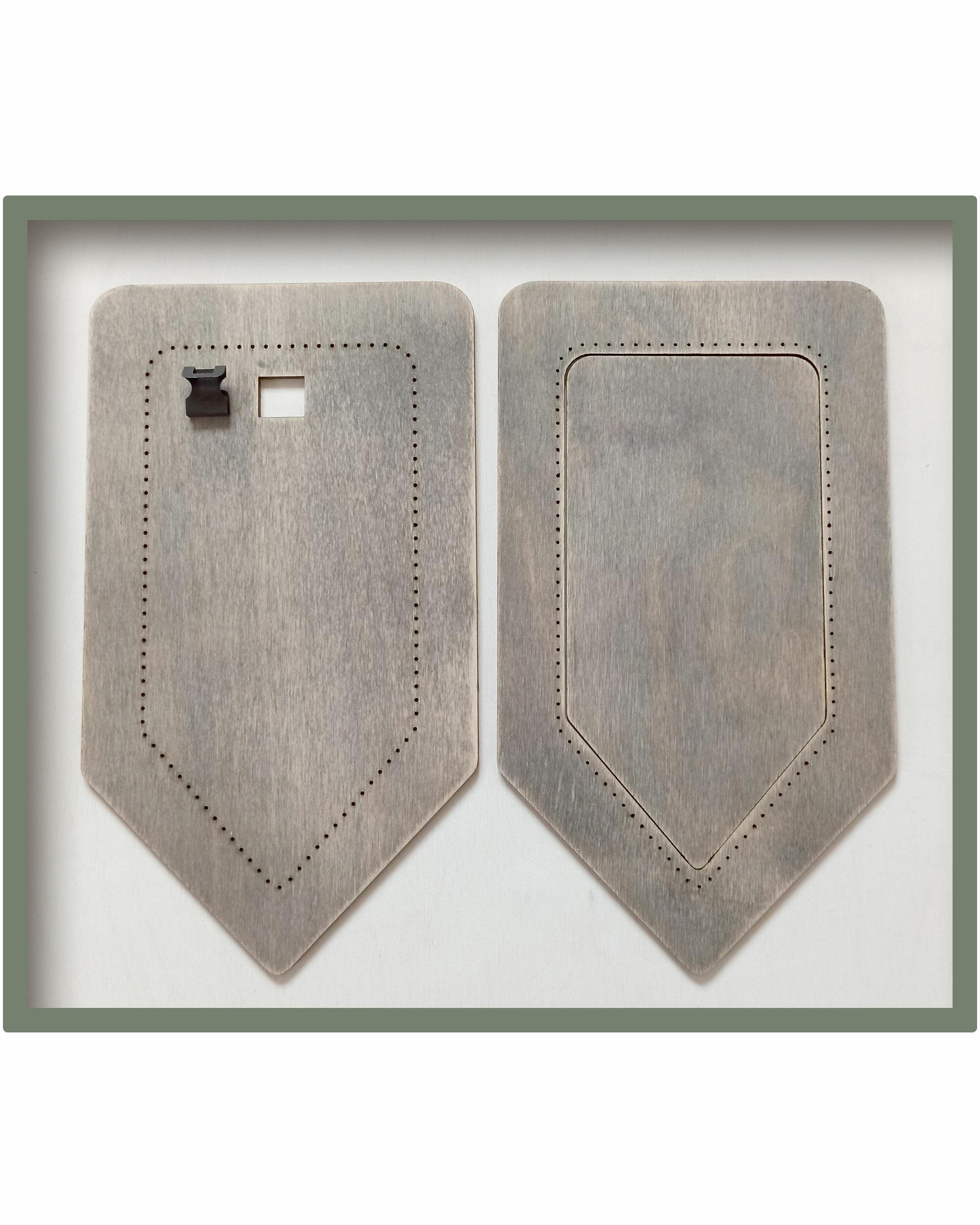 Рамка для вышивки Флажок (цвет Туман)