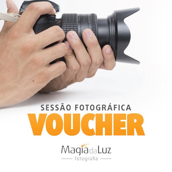 Voucher para Sessão Fotográfica em Exterior