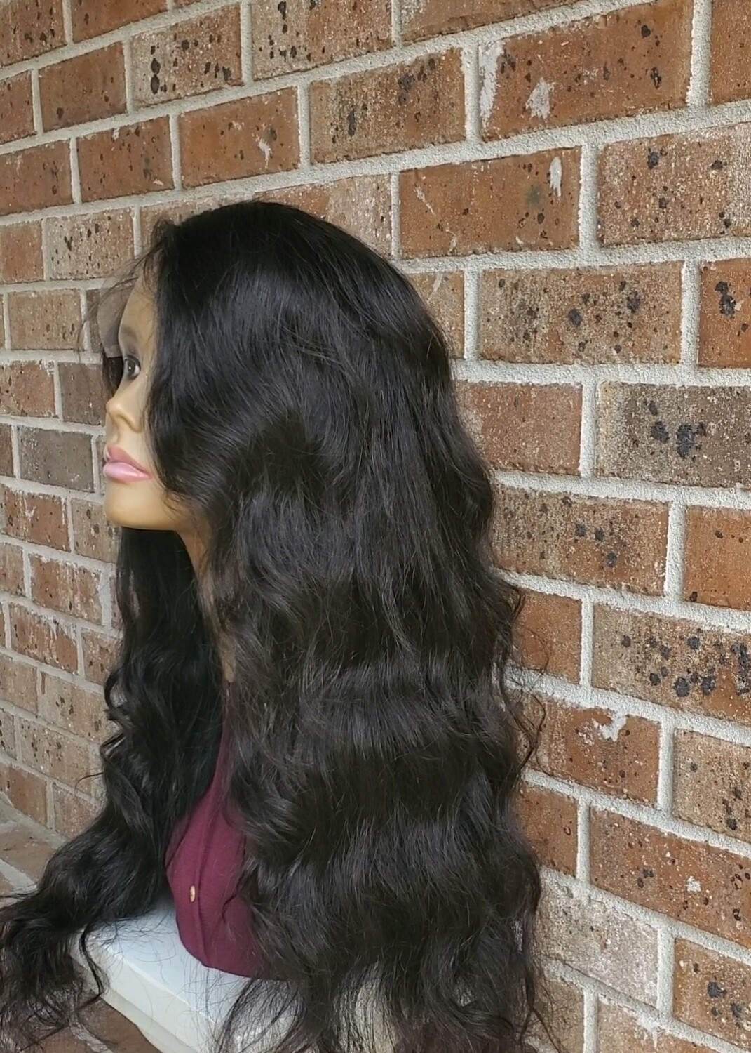 """20""""22""""22"""" Body Wave Lace Closure Wig"""