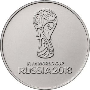 25 рублей 2018 года Футбол -1