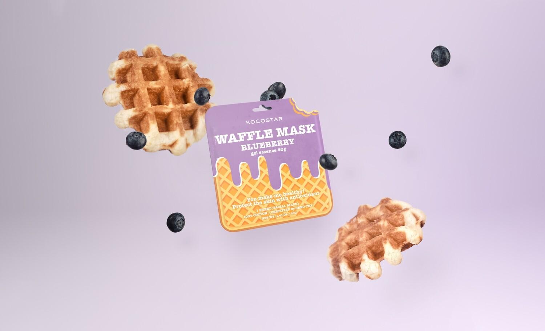 Waffle maska BOROVNICA
