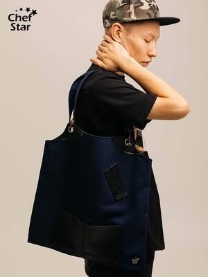 Сумка-Шоппер (Shopper), Blue/Black, Chef Star
