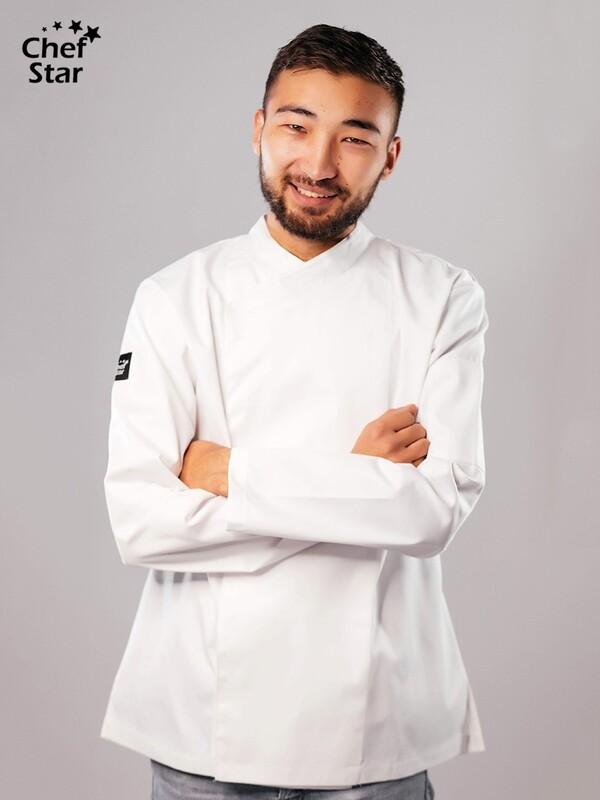 Teriyaki Chef Jacket. white