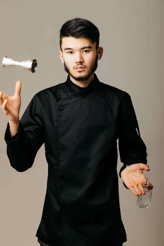 Teriyaki Chef Jacket, black