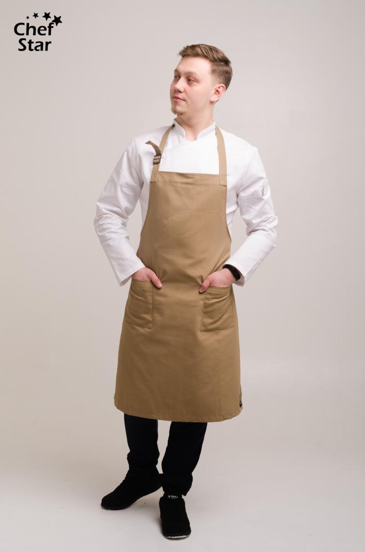 Фартук Тимьян (Thyme), Beige, Chef Star