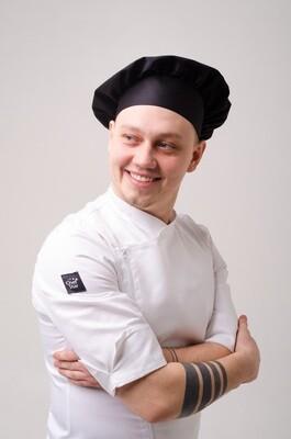 Поварской колпак Chef Star Classic Hat, черный
