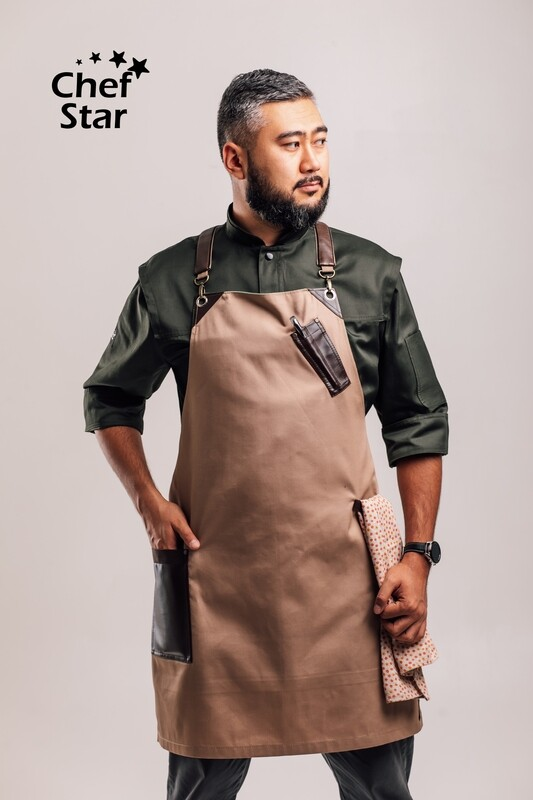 The New Era apron, beige, NEO MOOD collection