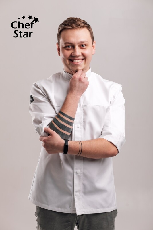 Chef Star New York Chef Jacket, white, NEO MOOD collection