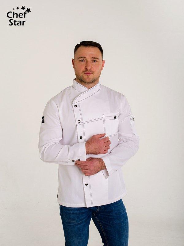 Китель Bechamel (Бешамель), White, Chef Star