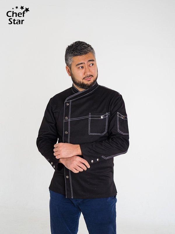 Китель Bechamel (Бешамель), Black, Chef Star