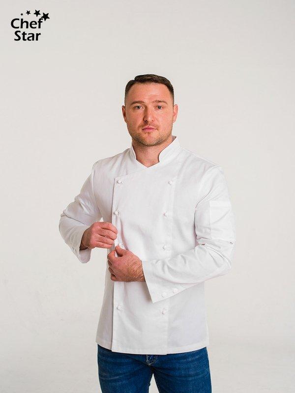 Salsa Chef Jacket, white