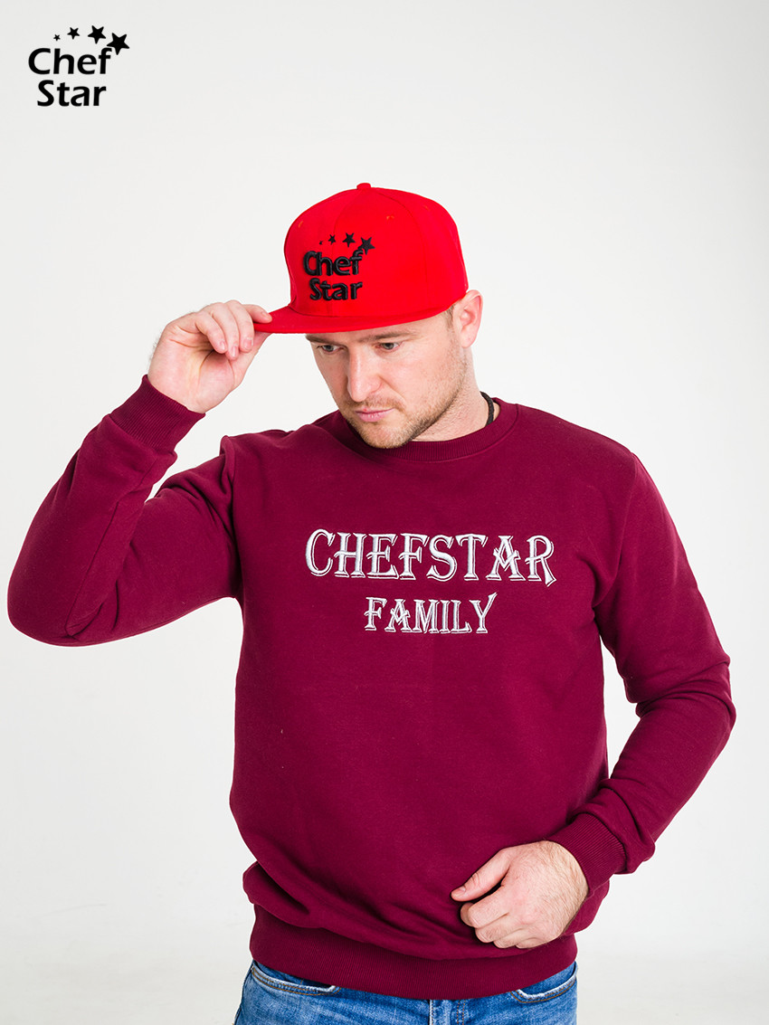 Снэпбэк (Snapback), Red, Chef Star