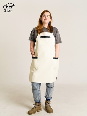 Фартук Pina Colada (Пина Колада), White, Chef Star