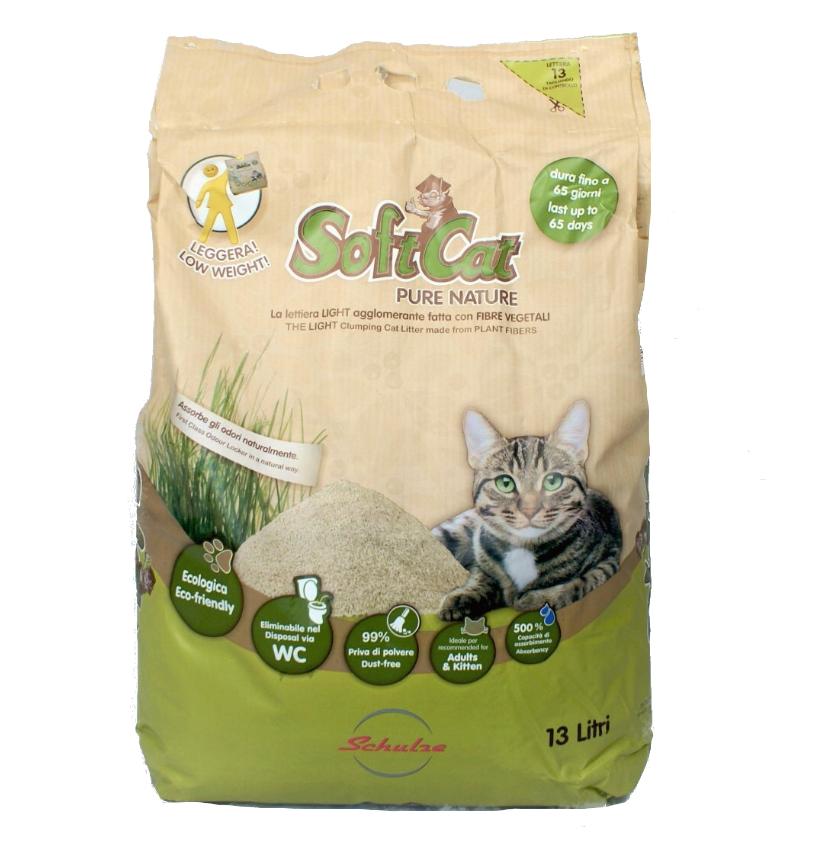 Lettiera Softcat Ecologica 13 lt.