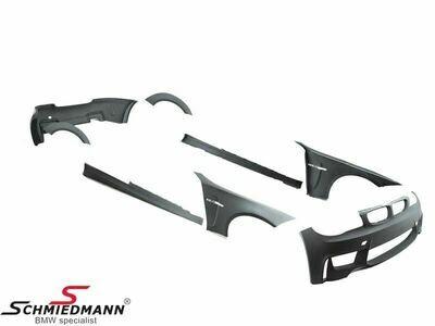PRIOR-DESIGN PDM1 Widebody Aerodynamic-Kit E82/E88