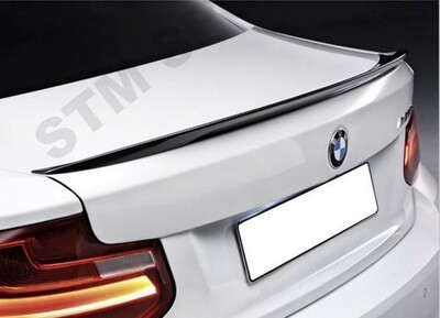 F22 Trunk Spoiler M Performance Look Gloss Black