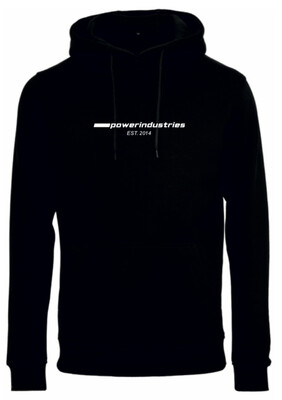 Hoodie Powerindustries 2020 Logo BLACK
