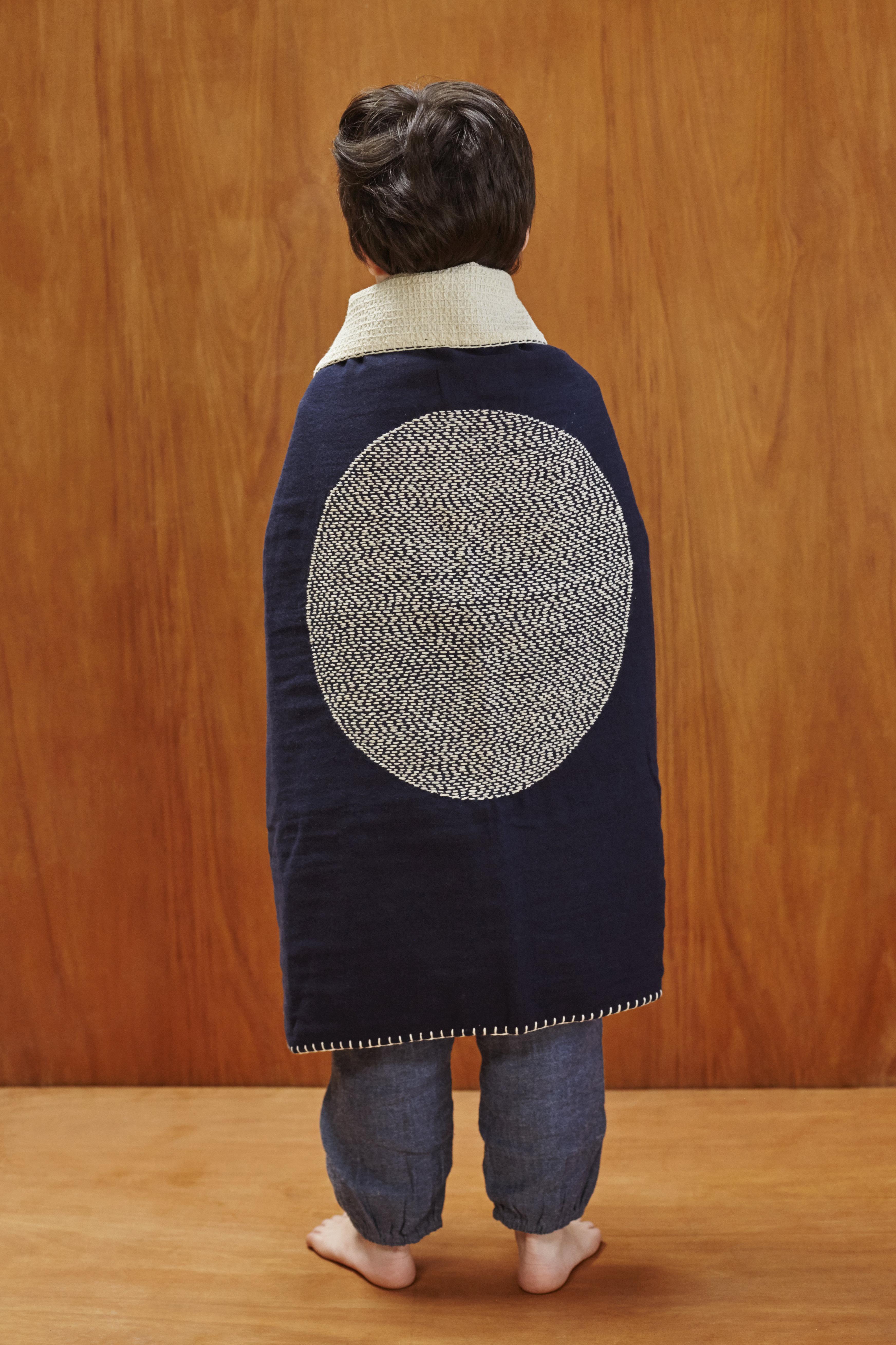 "Baby Blanket ""Rain Moon"" (80x80cm) 8-BBRAM13A/15"