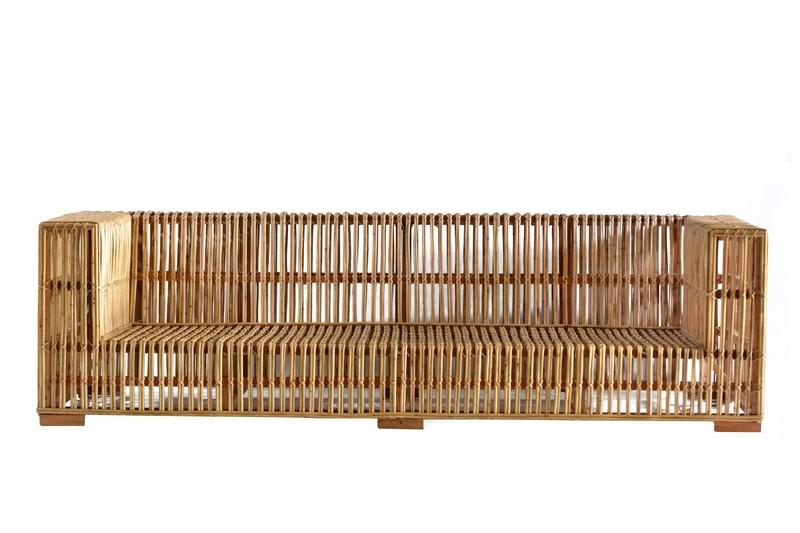 Rattan Sofa 2 (250cm)